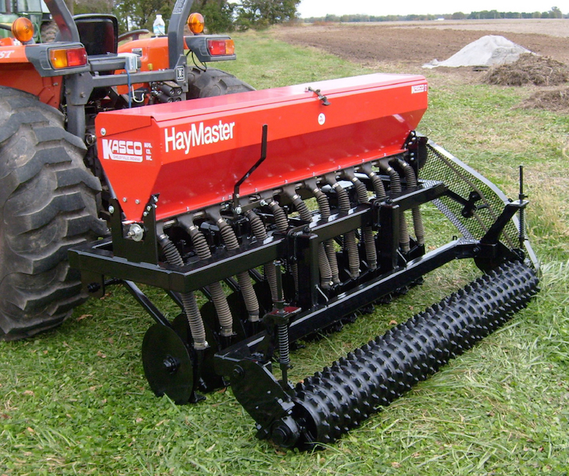 The Hay Master min-till drill from Kasco Manufacturing.