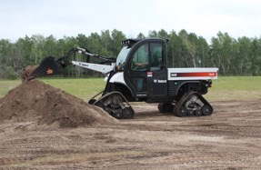 Convert Wheels to Tracks on Bobcats in One Hour with Mattracks