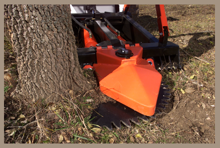 The Marshall Tree Saw revolutionizes the way land is cleared.