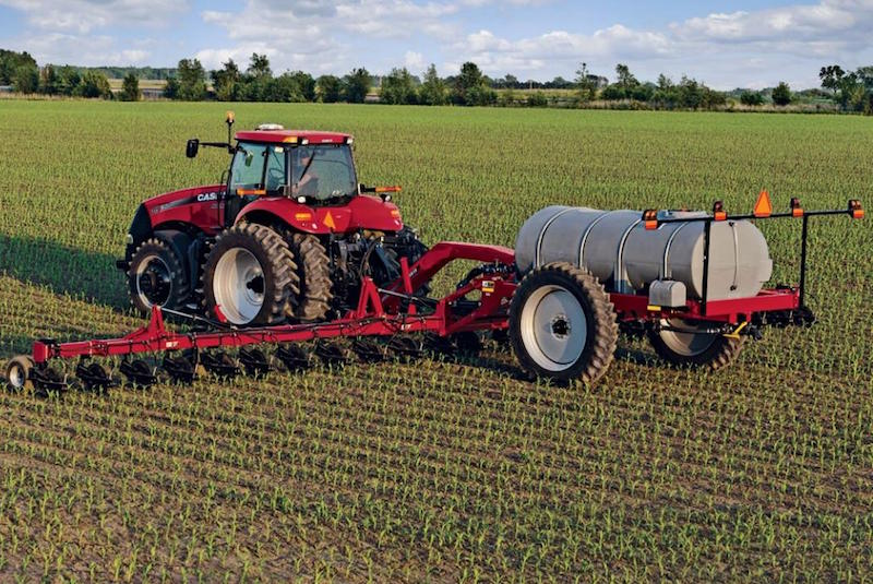 Both Wet and Dry Conditions Threaten Nitrogen Loss