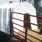 New One-Piece Super Hut Provides Warm, Dry Shelter for Your Animals