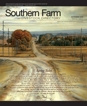 Southern Farm And Livestock Directory | November 2016