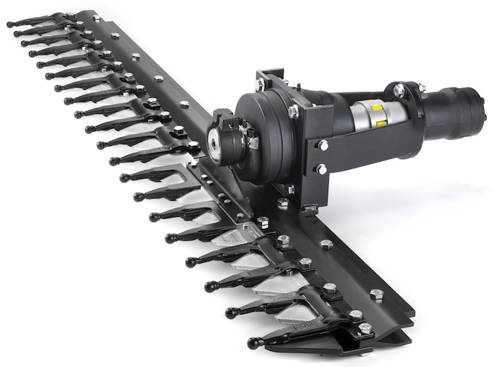 The Hedge Trimmer system is available as standard and lightweight versions.