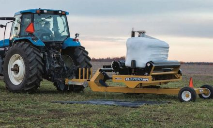 New Bale Wrapper Perfect for Small to Medium Operations